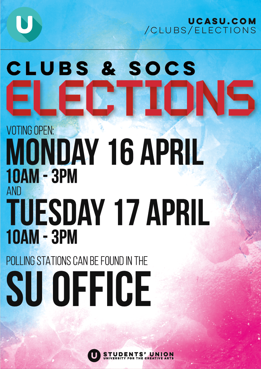 test Twitter Media - Clubs and Society elections are happening! If you are an up-to-date member of a club or society, come along to the SU office between 10-3 today or tomorrow to cast your vote! Best of luck to all candidates! https://t.co/GUA9EPKV8G