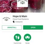 Miss us yesterday? Don't worry, you can find some of your favorite #localfood on the #HopeandMain app! 😀 Download it here: https://t.co/eXW84glWIx