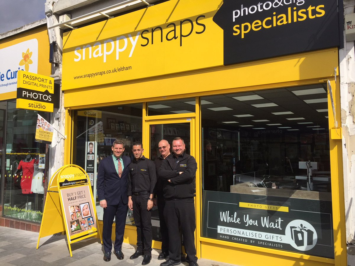 6c49a3fe Snappy Snaps arrives in Eltham, we opened our new store this morning. Great  to see our new partner Shakoor in his new store this morning we wish him  all the ...