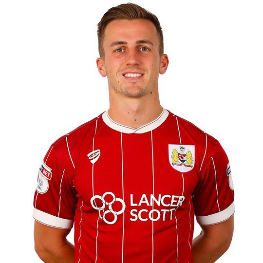 PFA Player in the Community 2018 @joebryan is joining me in the studio on The Sound of the City from 6pm #bristolcity