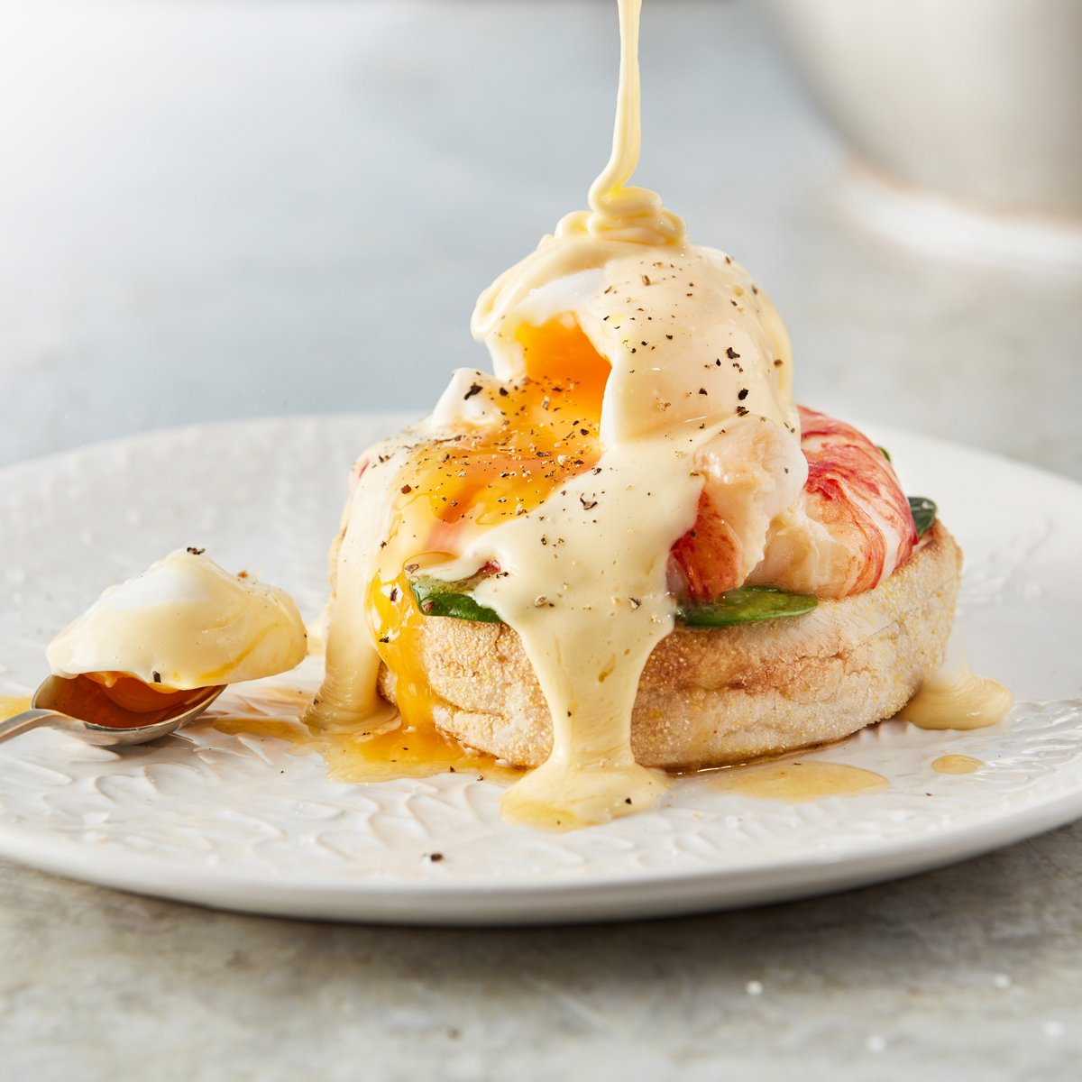 Did you know that today is #NationalEggsBenedictDay?  If you want to celebrate in style  why not give our Lobster Eggs Benedict a go   For the full recipe head to our Facebook page  <br>http://pic.twitter.com/hX8faGtt4w