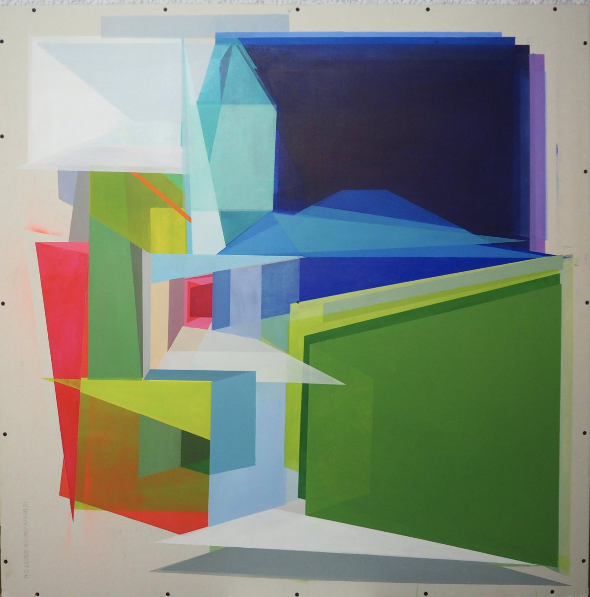 Good morning! #painting of @annielabbe_art!!!  http://www. invasionexpo.com  &nbsp;   to see more artworks!! #geometricart #geometric #invasionexpo #contemporaryart #architecturedesign #architectural #art #Quebec #mixedmediaart #canadianartist #colorful #abstractart<br>http://pic.twitter.com/u1rJs8fiIK