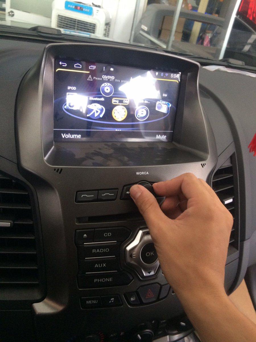 Đầu DVD #Ford_Ranger mới bản Android  Gọi 0939115577 - Showroom: 132 Phạm Văn Đồng, P. Hiệp Bình Chánh, HCM https://t.co/niHfs8pIJj