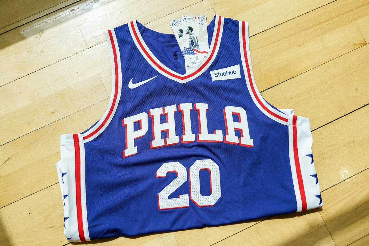 🚨 RETWEET TO ENTER 🚨  @StubHub is giving away two lower-level tickets to tonight's game AND a @MarkelleF jersey!   We'll DM the winner at 4PM.  #PhilaUnite x #HereTheyCome