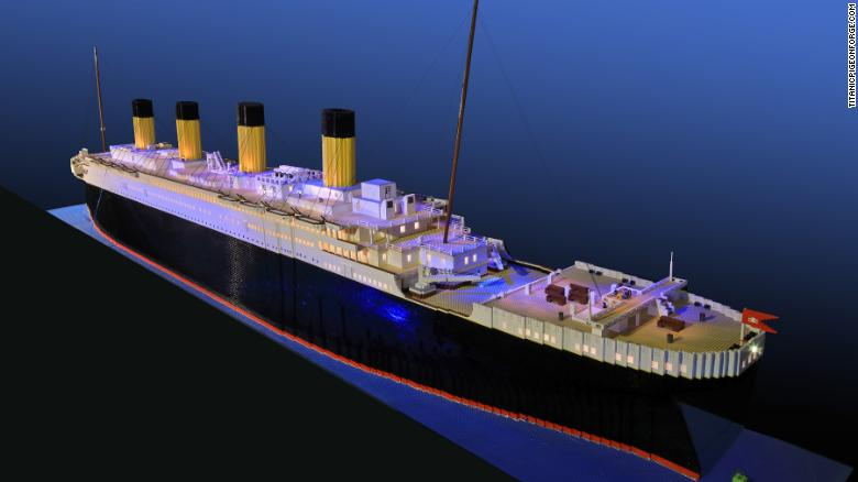 The world&#39;s largest Lego replica of the doomed Titanic liner was built over 700 hours -- 11 months -- by a 10-year-old boy from Reykjavik, Iceland, who is on the autism spectrum.  http:// ow.ly/ocxt30jvYNK  &nbsp;   #autism #asd #LEGO <br>http://pic.twitter.com/Gp56JiWJM3