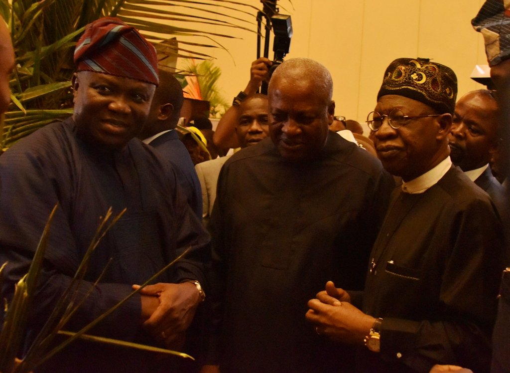PHOTOS: Ambode, Lai Mohammed, Omotola And Others At Lagos Tourism Summit