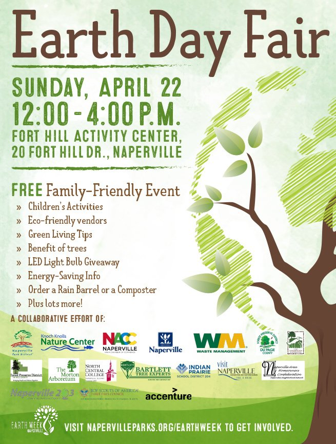 Earth Day Is Coming Up This Sunday! If Youu0027re Looking For Something To Do,  The City Of Naperville Is Hosting A Great FREE Event!