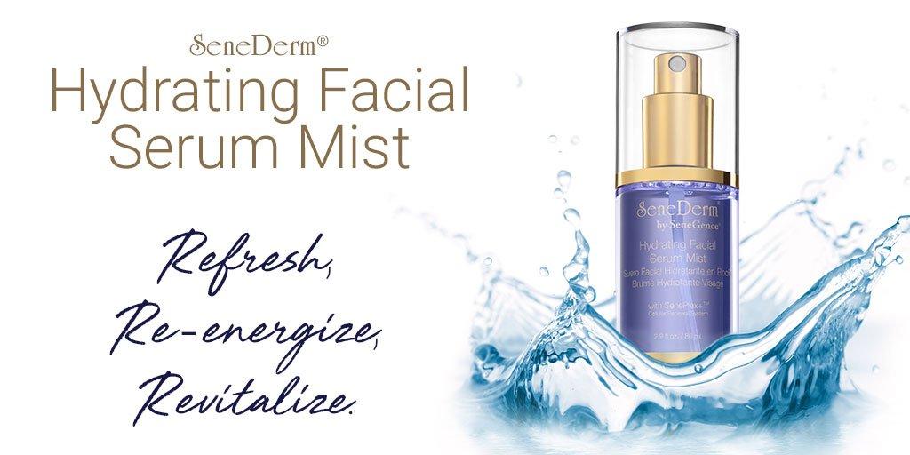 Facial hydrating mist