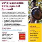 Save the date:  4/26 #Networking #Lunch - #Economic Development Summit @USC @USCCivicEngage Learn how to finesse your #leadership skills, the best #financing programs for your #smallbusiness & more https://t.co/1J0pSqkV0b