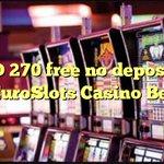 Image for the Tweet beginning: USD 270 free no deposit
