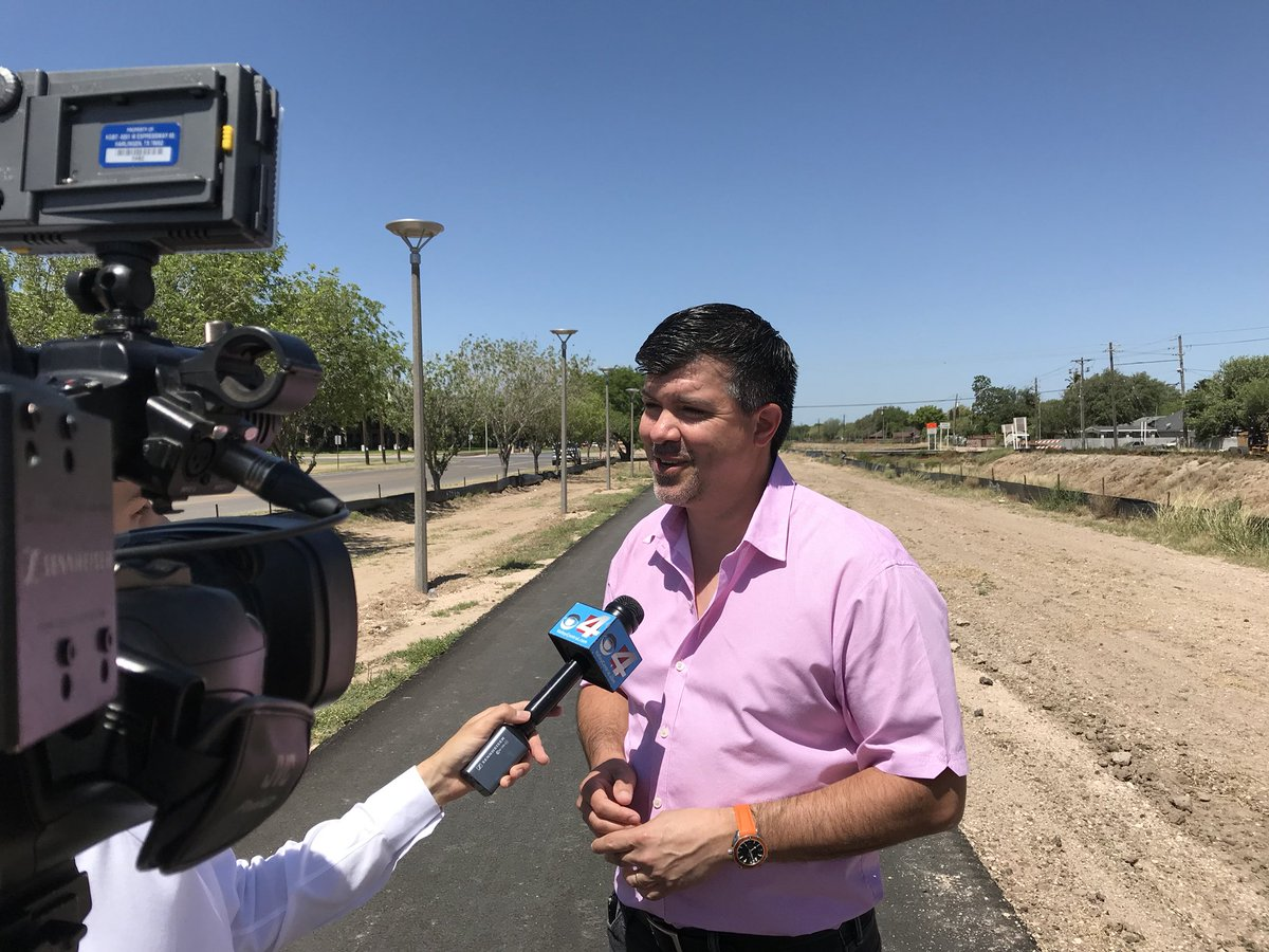 Eduardo Cantu On Twitter Update The Hidalgo County Precinct 2 Regional Linear Park Hike And Bike Trail To Air This Evening KGBT Ch 4