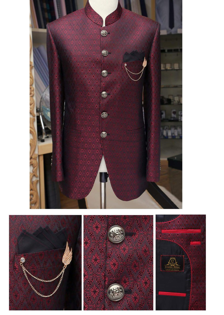 #UomoAttire #Customized  #Prince #Coat  For Contact Us  +92300766-8666 OR +92300761-8666 #bespoke #MadeToMeasure #custommade #mensstyle #menswear #Mensfashion #weddingdress<br>http://pic.twitter.com/RbmCptT39A