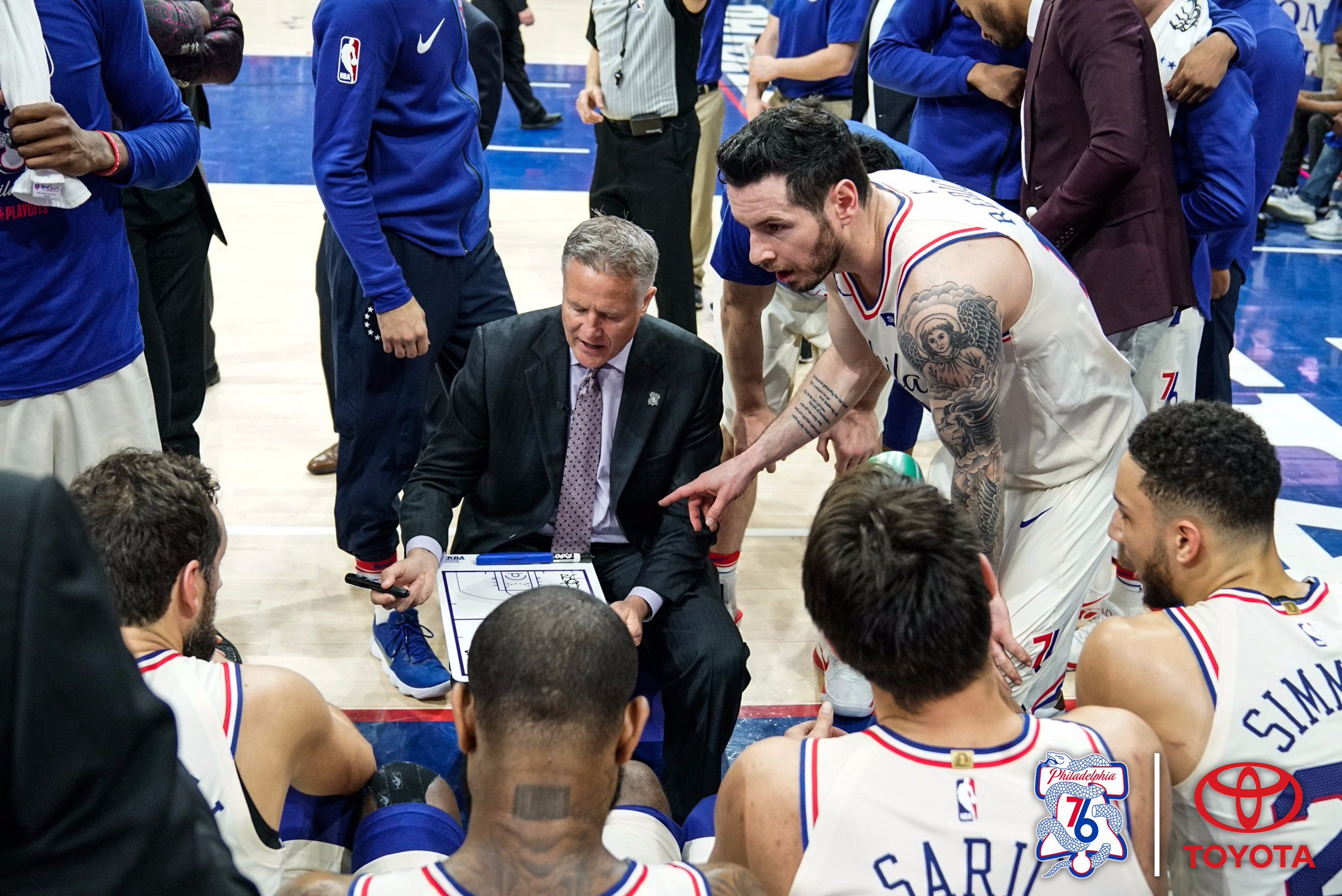 Early Adjustment Set Tone for Series.  #PhilaUnite x #HereTheyCome  via @brianseltzer, https://t.co/Oz0cqK3M77 https://t.co/8TdxEERGF1