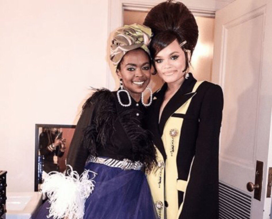 . @MsLaurynHill + @AndraDayMusic Tribute @NinaSimoneMusic At 2018 Rock & Roll Hall of Fame: https://t.co/3hMW3GV3AQ https://t.co/eh2lzbZc7L