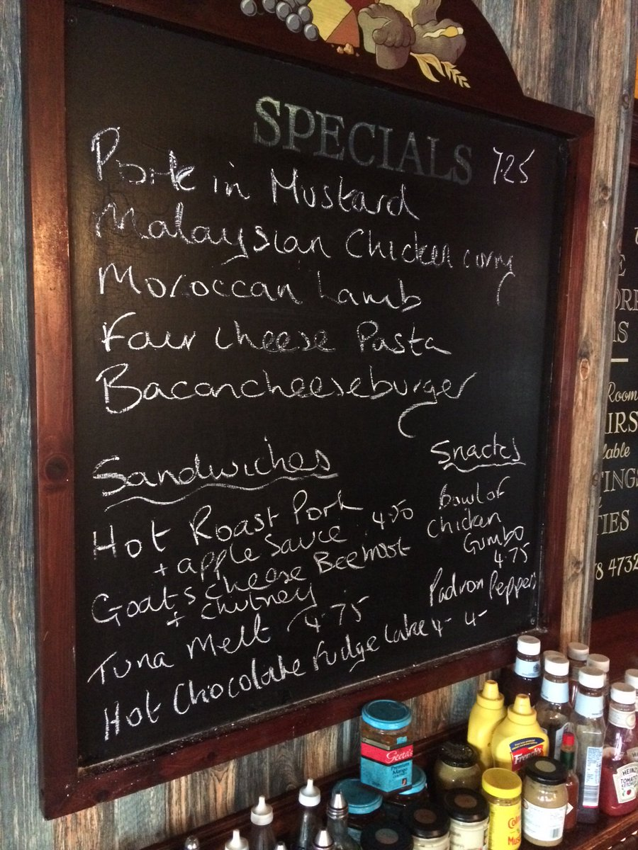 The specials board this week! https://t.co/nHDXBoKEiS