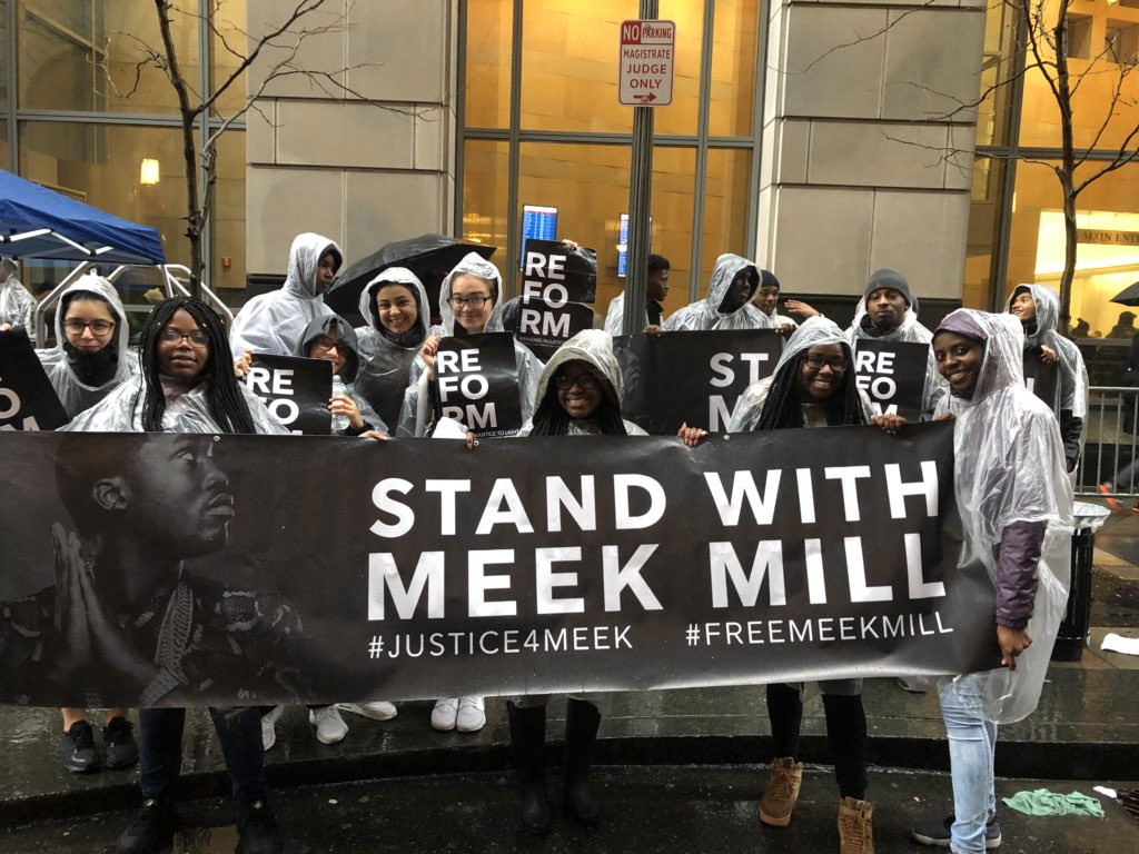 """&quot;This justice will be corrected, this justice will be rectified and all of you don&#39;t stop until we bring Meek home."""" #JoeTacopina @MeekMill #ReformPhilly #Justice4Meek #FreeMeekMill Visit  http:// ReformPhilly.com  &nbsp;   for more information<br>http://pic.twitter.com/PZagj7eDCF"""