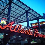 The @Braves are back home all week! #ChopOn | Photo by tridente77