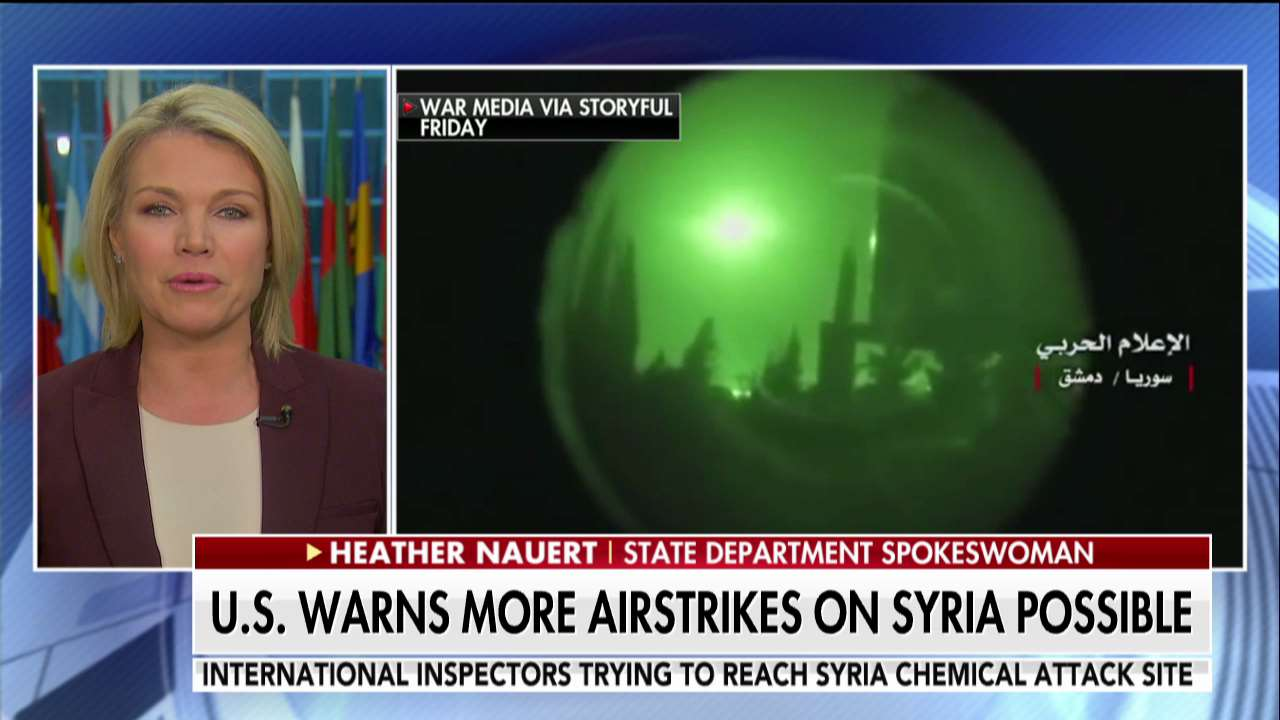 .@statedeptspox: 'We know that chemical weapons were used, once again, on Syrian men, women and children.' https://t.co/dWM4Zy6jxV