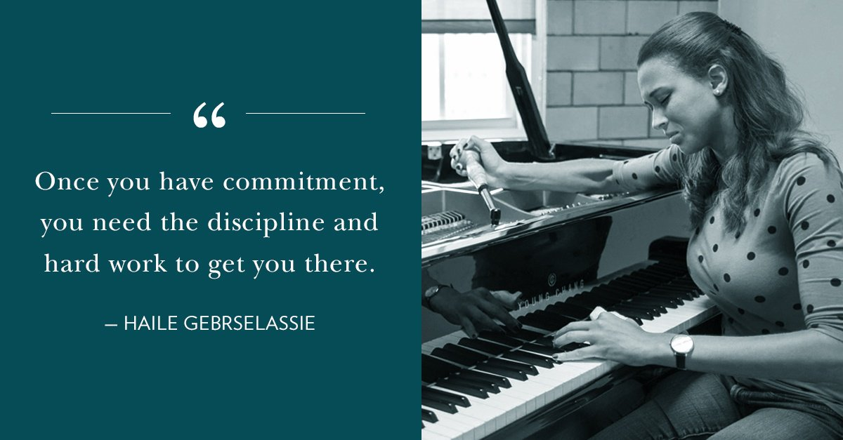 Reloaded twaddle – RT @NBSSboston: Once you have commitment, you need the discipline and hard work...