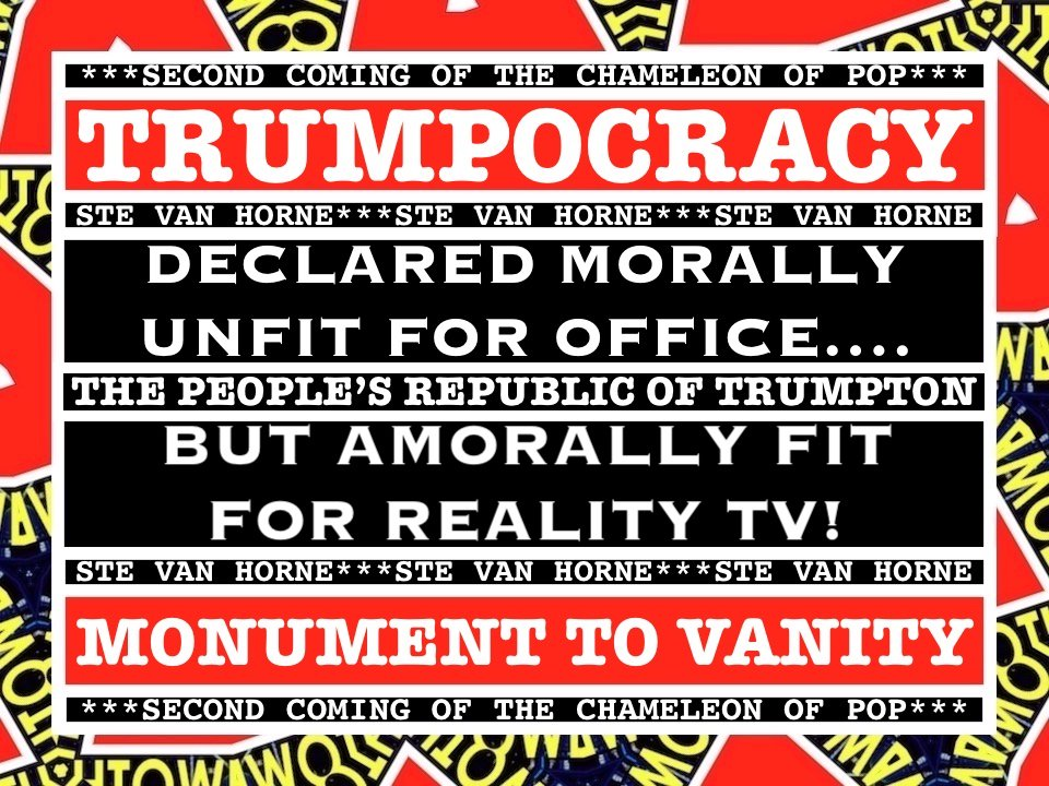 #DonaldTrump @POTUS @realDonaldTrump  DECLARED #MORALLY #UNFIT FOR #OFFICE….  BUT #AMORALLY FIT FOR #RealityTV!<br>http://pic.twitter.com/4fghjyHIPx