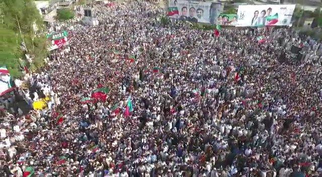 Tehreek-e-Insaf's photo on #PTIMardanJalsa