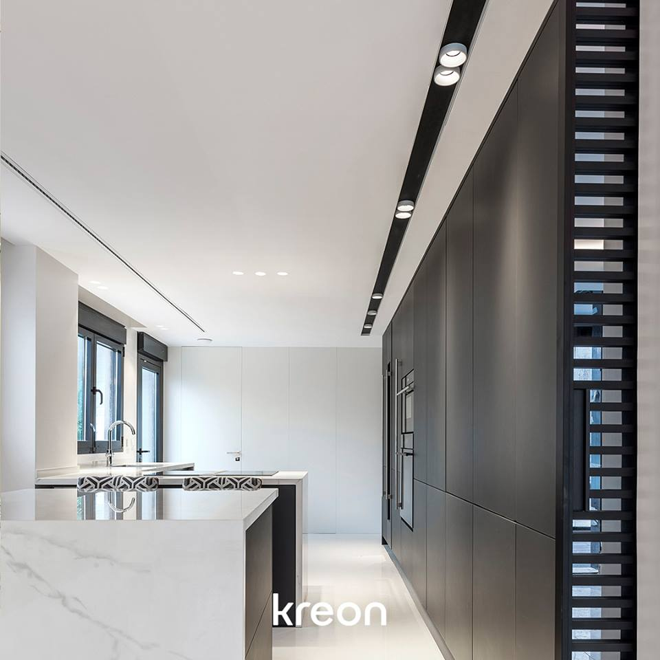 kreon lighting. Kreon 80 In-cana Is A Minimal Architectural Lighting Channel. The White  Profile Gives Depth To The Ceiling Planes. Project By Marisa Gallo,