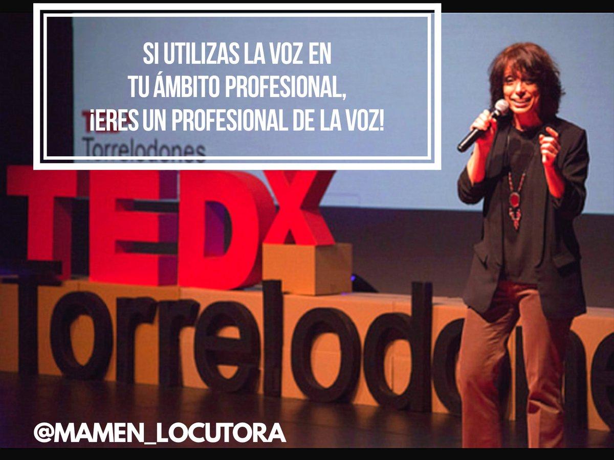 Mamen Delgado 🎙's photo on #DiaMundialDeLaVoz
