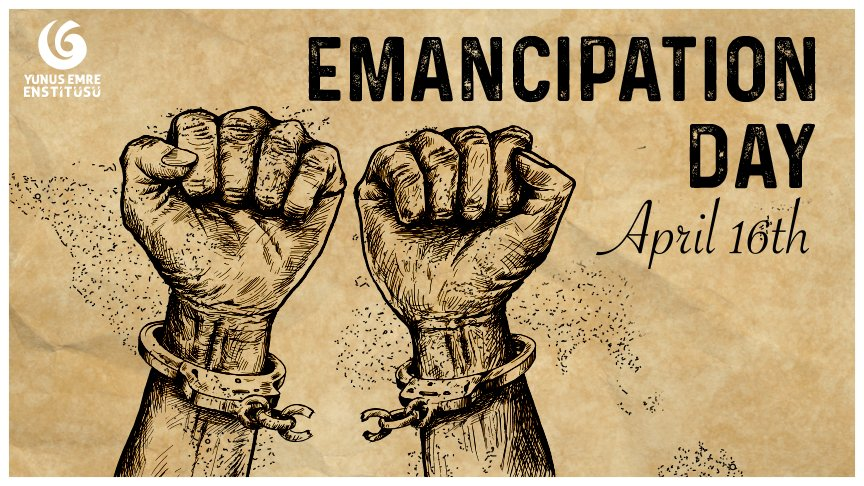 On this day in 1862, Washington, DC abolished slavery. Freed 8 months before the emancipation proclamation, #EmancipationDay celebrates the end of slavery in the District of Columbia. #WashingtonDC #Emancipation <br>http://pic.twitter.com/IT7LK71YQF