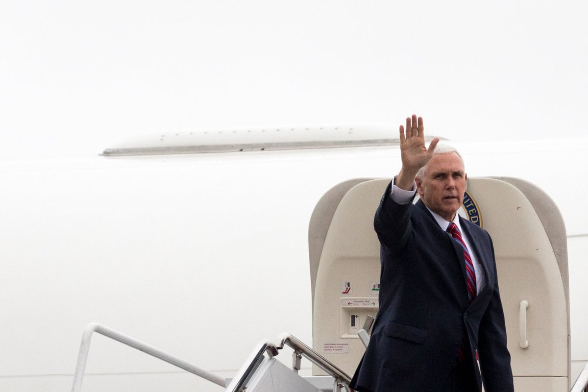 On my way to Colorado Springs for the 34th National #SpaceSymposium. Under @POTUS Trump, America is committed to leading once again in space on the commercial, defense and scientific fronts. #NextFrontier #34SS
