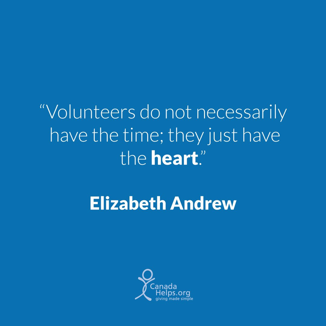 It&#39;s #NationalVolunteerWeek! Thank you to Canadians from coast to coast who give their time and skills so generously to the causes they care about. #MondayMotivation<br>http://pic.twitter.com/9SrWnUpeyc
