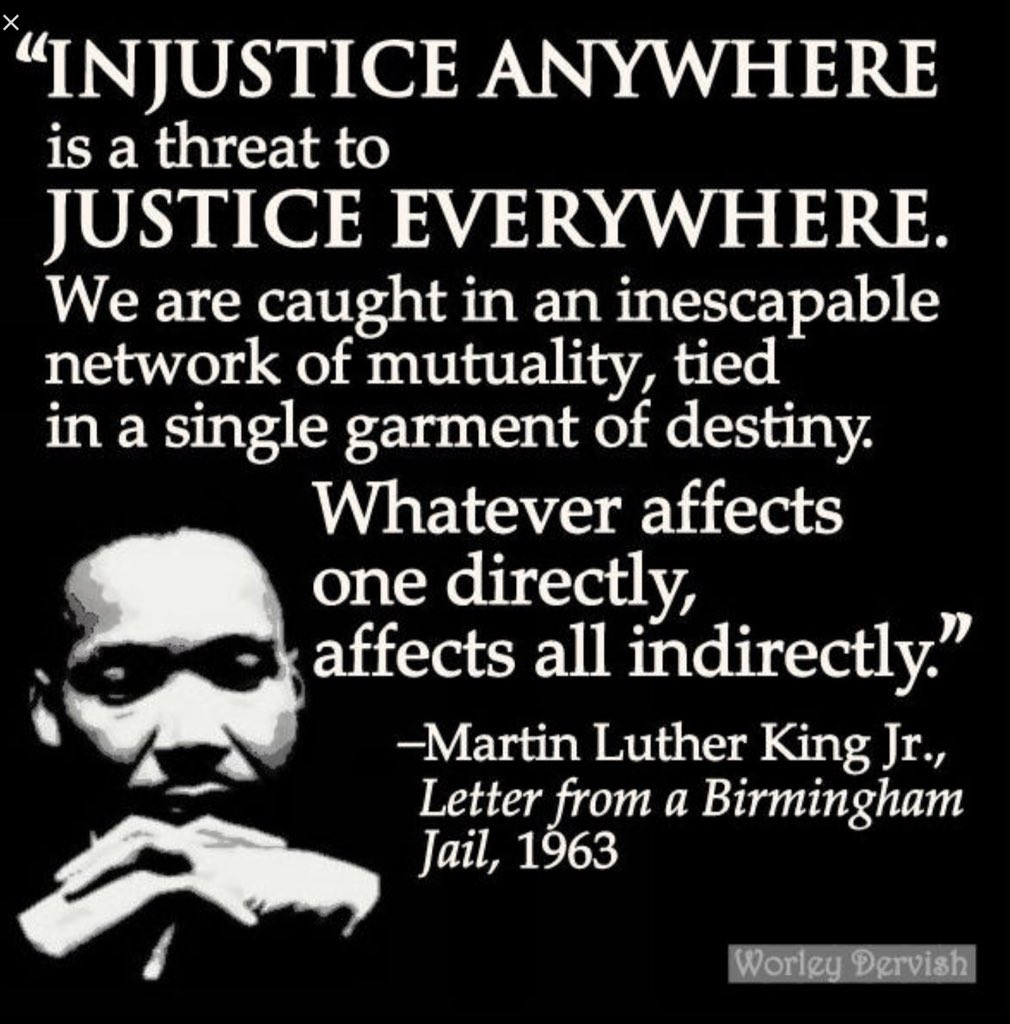 """#MondayMotivation """"Good Monday"""" 55yrs ago Today Martin Luther King wrote his letter from the """"Birmingham Jail"""" Let us never forget Whatever Affects 1directly affects all indirectly #EmancipationDay  #AM2DM  Nvr Be """"morally unfit"""" #BostonMarathon <br>http://pic.twitter.com/zSeYEeAv25"""