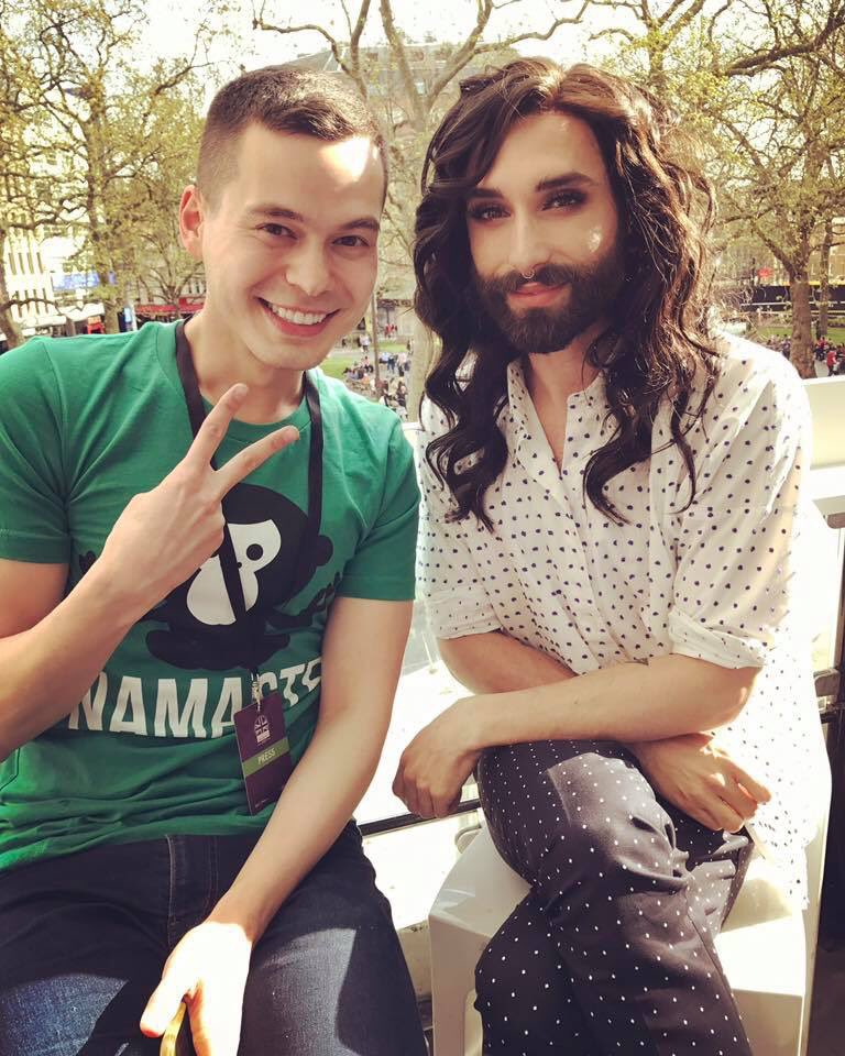 Sending buckets of love to #Eurovision winner @ConchitaWurst. Courageous, brave and in total control. Keep writing your own story!  #ConchitaWurst <br>http://pic.twitter.com/W5ZDe5bKs3