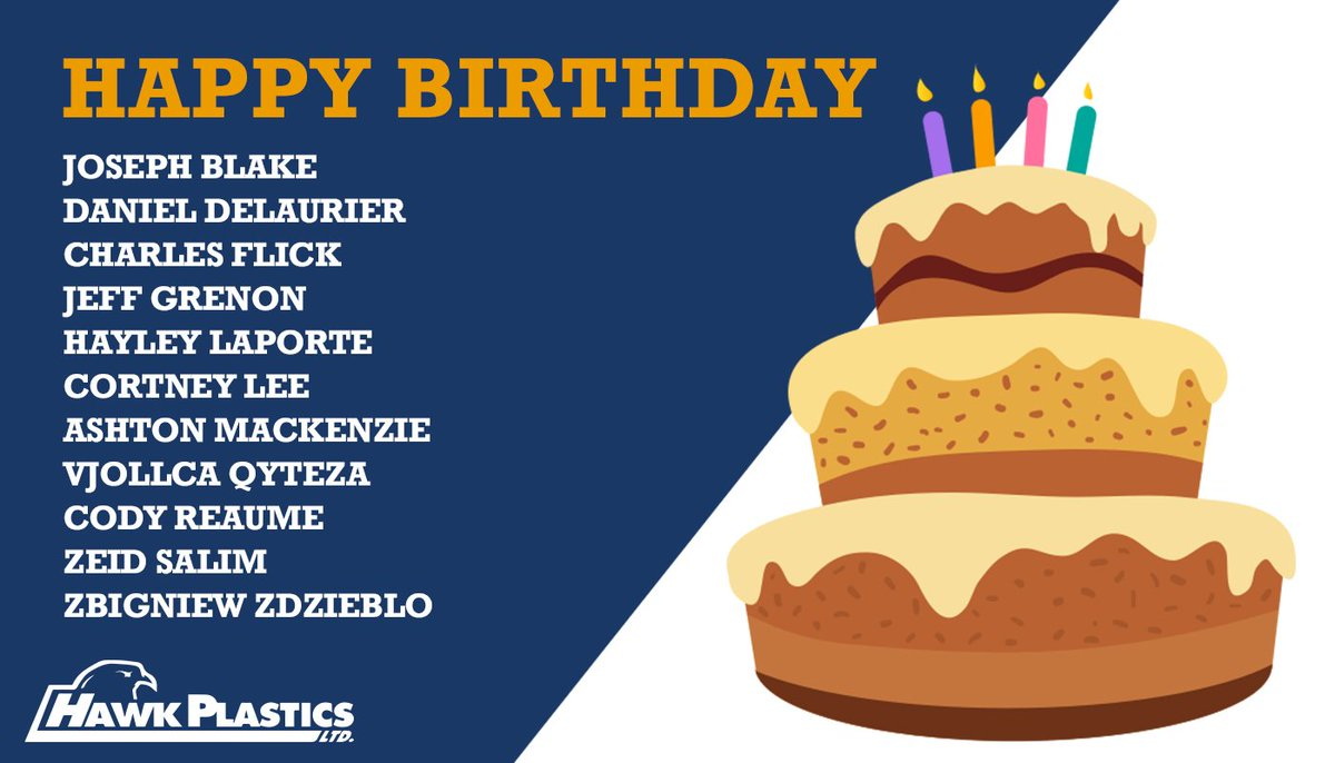 Big Birthday Shout Out To Charles >> Hawk Plastics On Twitter A Big Happy Birthday Shout Out Goes Out