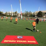 MADRID DAY 5 👍⚽️🇪🇸  Cracking final day of our tour, great weather ☀️ we have just finished our final training session @realmadrid training complex. We now head into Madrid for a bite to eat before our flight home @inspiresport @MountsBaySchool #MBAMadrid2018