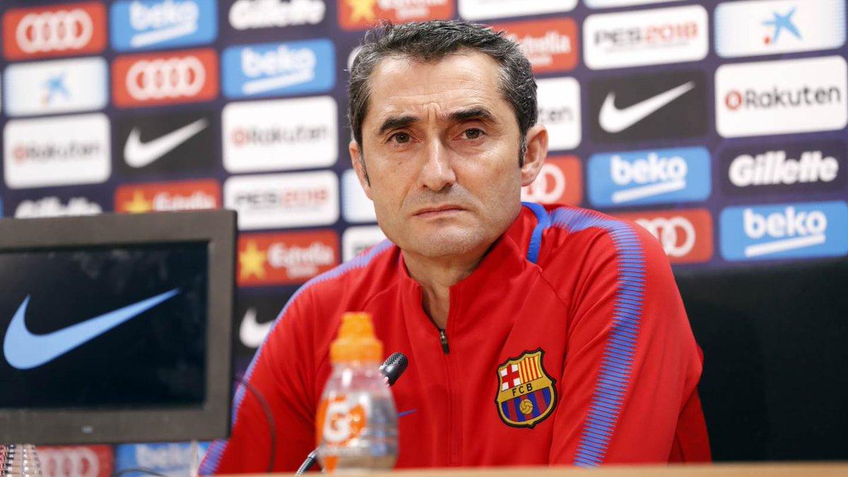 [�� LIVE] Follow the press conference with Ernesto Valverde �� https://t.co/EdLjwNF6HQ ⚽ #CeltaBarça https://t.co/sJKncnxN6H