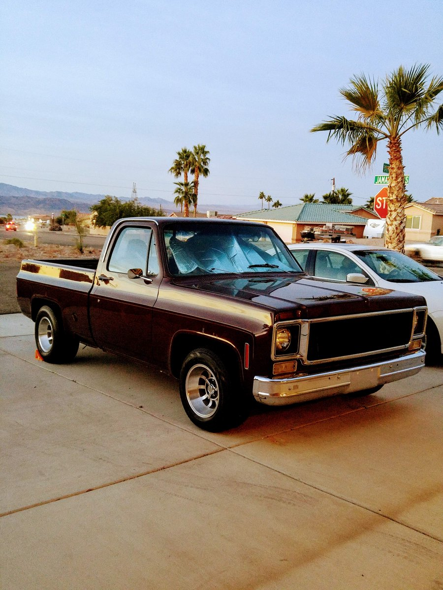 Lmc Truck Chevy >> Lmc Truck On Twitter Bill E Picked Up His 1977 Chevy C10 Sans