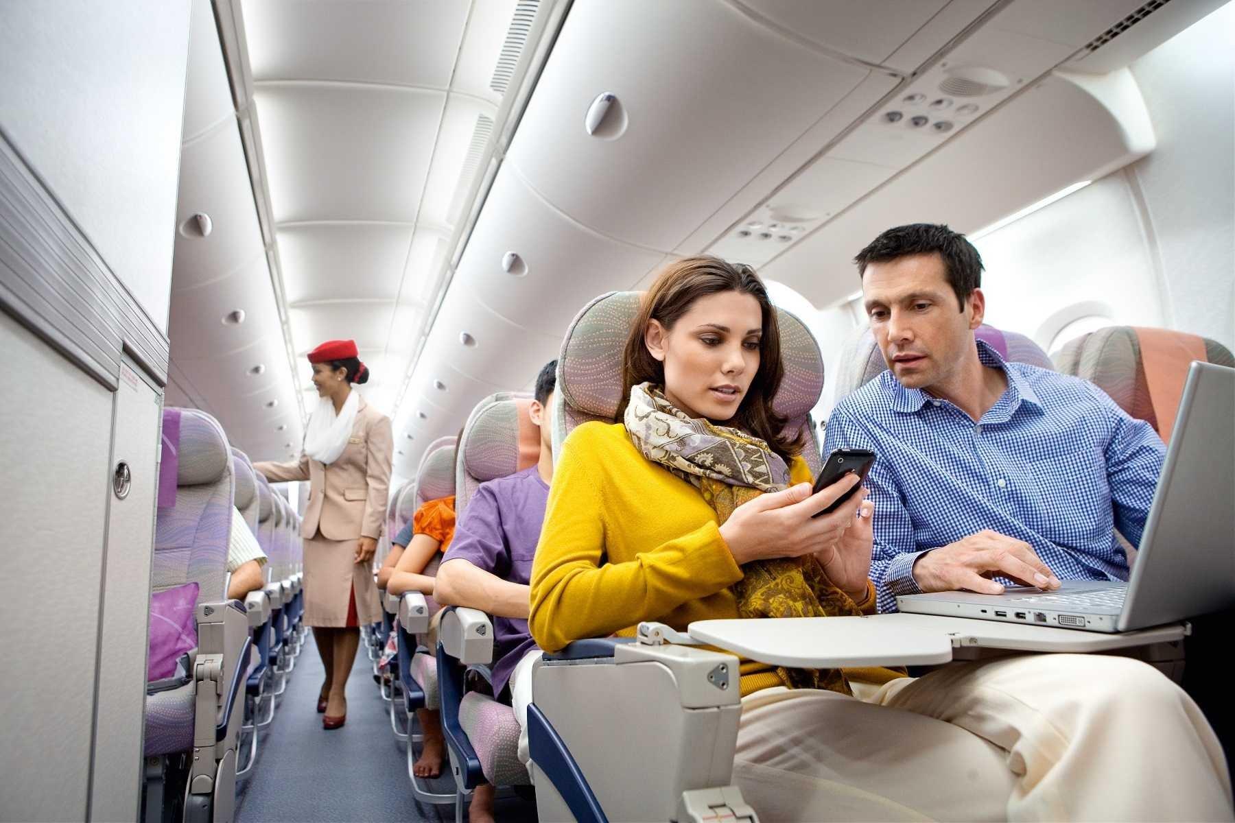 Нельзя делать фото в самолете