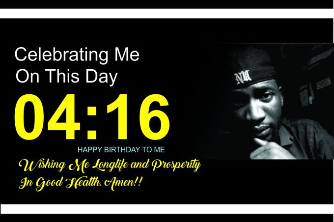 Happy Birthday to ME today... and to my