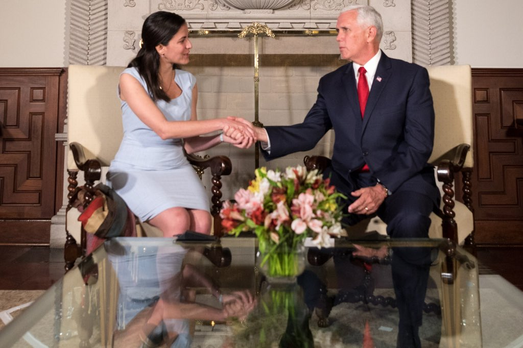 Good to see U.S. Senate pass bipartisan resolution honoring the late Cuban dissident Oswaldo Paya. @VP Pence met with his daughter @RosaMariaPaya while at @SummitAmericas. Inspiring woman, great champion for the Cuban people & for democracy go.shr.lc/2qD7Xyn