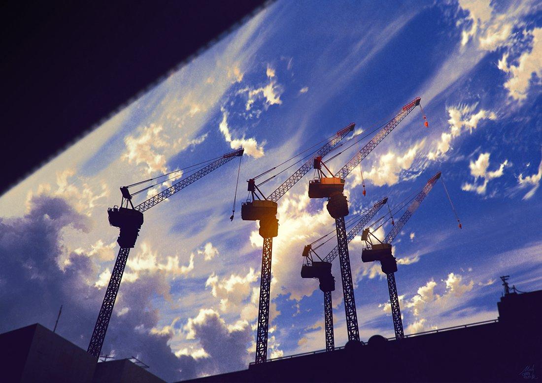雲を掴むまで  #pixiv