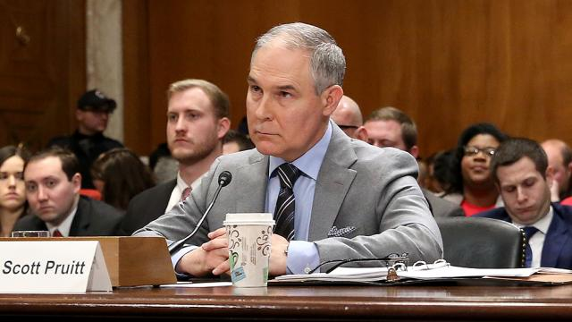 JUST IN: Federal investigation reveals Pruitt's $43,000 soundproof booth violated law https://t.co/FmkG3NzZ2R https://t.co/7bkc3MMPeJ