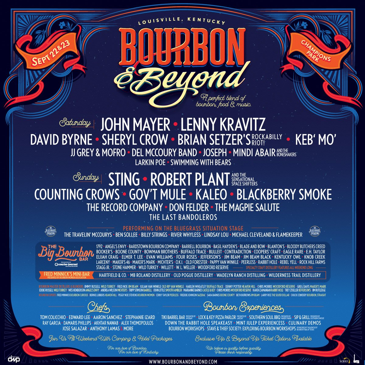 RP & the Sensational Space Shifters will perform at @BourbonNBeyond in Louisville, KY, on September 23. Tickets on sale Friday: goo.gl/FqePWx #BourbonAndBeyond