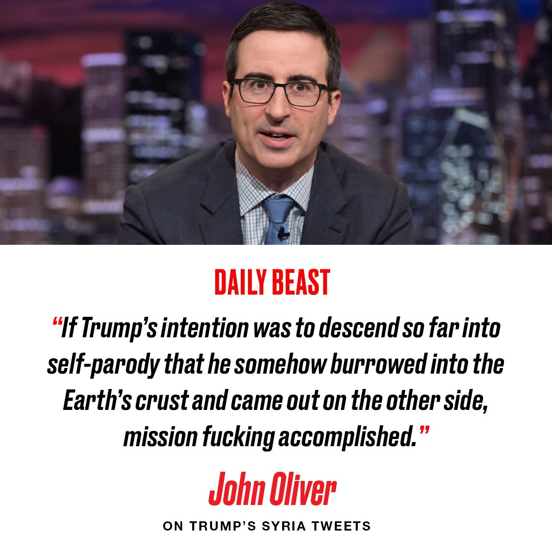 The Daily Beast's photo on John Oliver