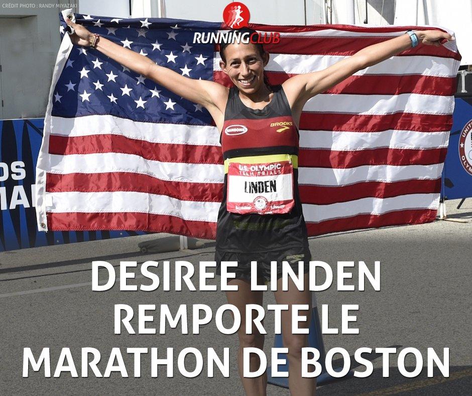Desiree Linden  remporte le #BostonMarathon chez les femmes ! Une Américaine ne s\