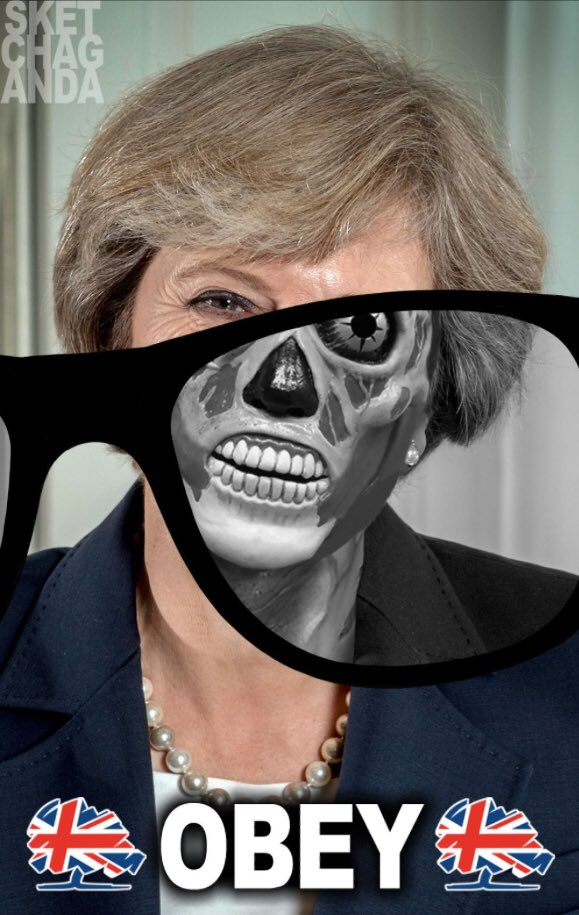 Theresa May considers it to be 'her decision' to take military action in Syria & risk a conflict with Russia. If you disagree you are an 'Assad apologist'. Are we now living in a dictatorship? #SyriaStatement