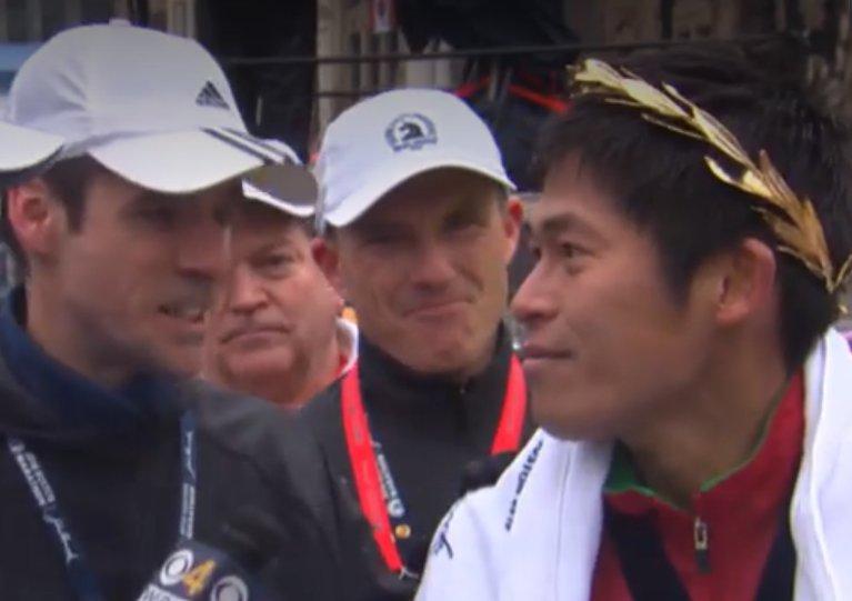 Boston Marathon Champion 2018 Yuki Kawauchi @JRNHeadlines #BostonMarathon  - FestivalFocus
