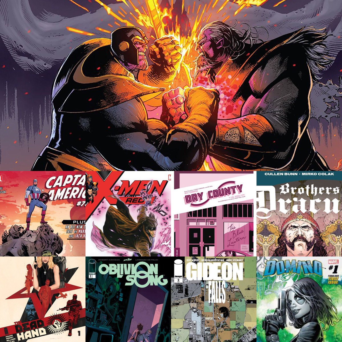 Looking for some #MondayMotivaton  Check Out our latest episode where we review the latest comics. #Marvel #DCComics #ImageComics #Thanos  #Batman #CaptainAmerica   #Xmen #DryCounty #OblivionSong #GideonFalls   http:// traffic.libsyn.com/nationofnerds/ Thanos_18.mp3 &nbsp; … <br>http://pic.twitter.com/hw0Gvag0dD