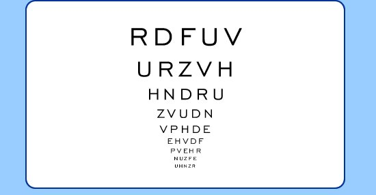 Here&#39;s everything you&#39;ve been wanting to know about the letter chart that&#39;s used during #eyeexams.  http:// qoo.ly/nqg8v  &nbsp;  <br>http://pic.twitter.com/Od5TpZV2Tb