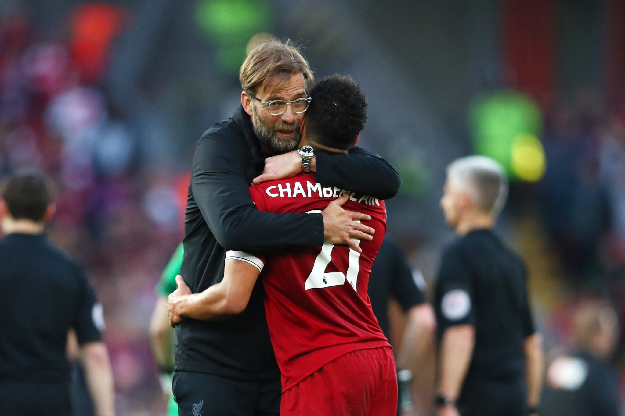 �� 'The mood is so positive in Liverpool.'  Jürgen Klopp reflects on an intense 14 days: https://t.co/ldQhEAjN4e https://t.co/DhNBqmZ7Fa