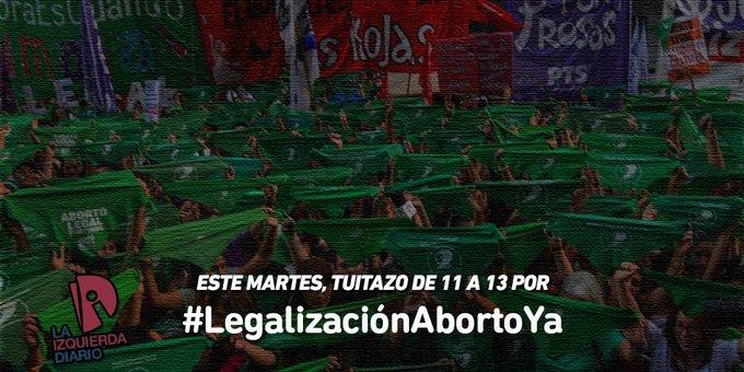 #LegalizacionAbortoYa Foto